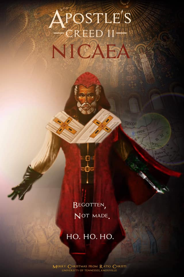 The Bishop (of Myra)!