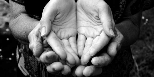 Giving Alms: Opening our Hands