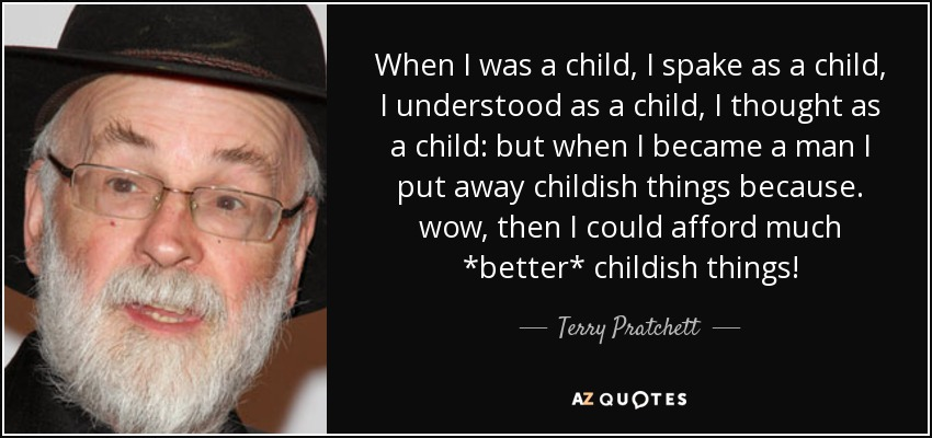 Pub Theology 6/15/21 — Put away childish things?
